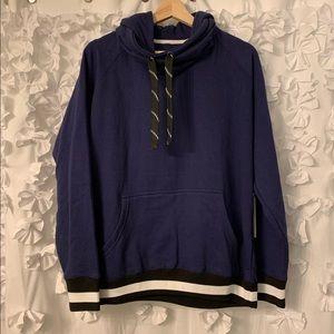 NWT Black Jack Funnel Neck Sweatshirt